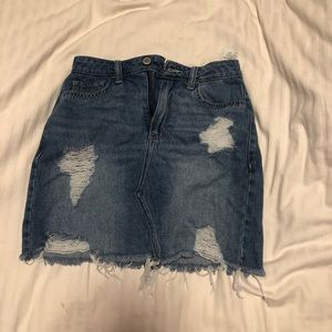 Hollister Denim/ Jean Skirt